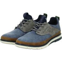 Sneaker Low SANDMAN Blau