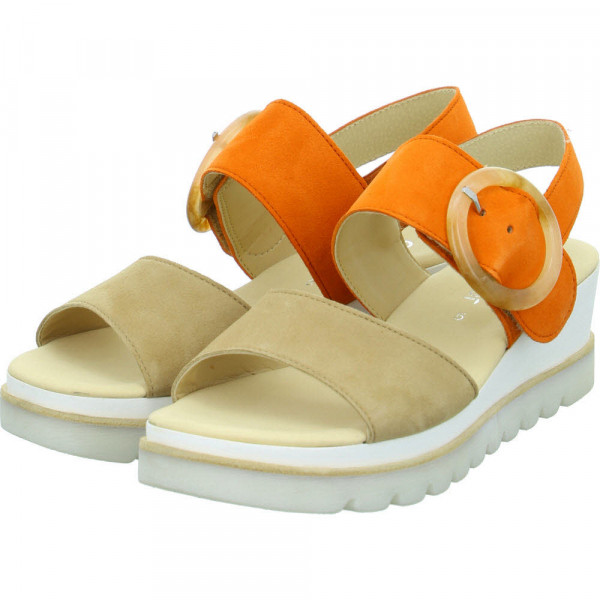 Sandaletten Orange - Bild 1