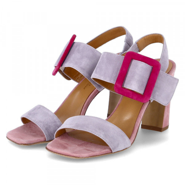 Sandaletten Violett - Bild 1